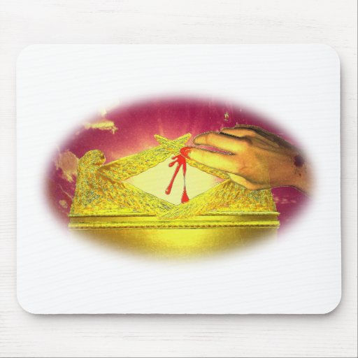 The Mystery of the Blood Mouse Pad