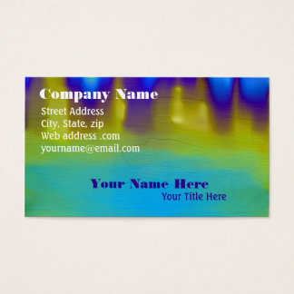 The Mystery Pool Business Card