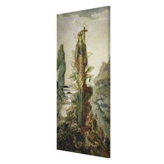 The Mystic Flower Canvas Print