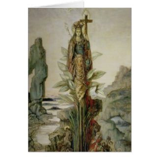 The Mystic Flower Card
