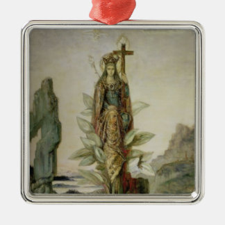 The Mystic Flower Metal Ornament