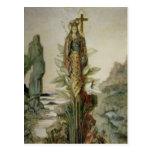 The Mystic Flower Postcard