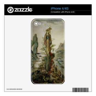 The Mystic Flower Decal For iPhone 4S