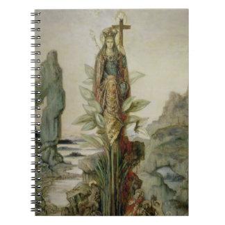 The Mystic Flower Spiral Notebook