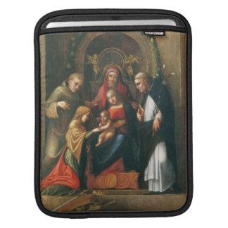 The Mystic Marriage of Saint Catherine iPad Sleeve
