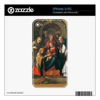 The Mystic Marriage of Saint Catherine Skin For iPhone 4S