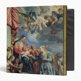 The Mystic Marriage of St. Catherine Vinyl Binder