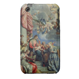 The Mystic Marriage of St. Catherine iPhone 3 Case-Mate Cases
