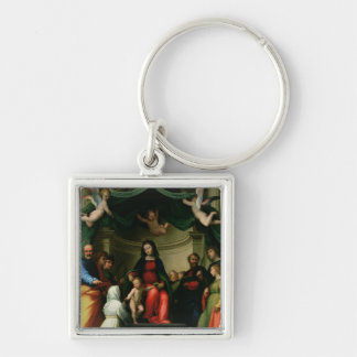 The Mystic Marriage of St. Catherine of Siena with Keychain