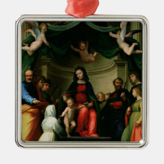 The Mystic Marriage of St. Catherine of Siena with Metal Ornament