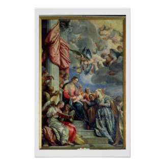 The Mystic Marriage of St. Catherine Poster