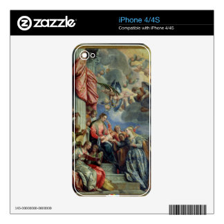 The Mystic Marriage of St. Catherine Skin For iPhone 4S