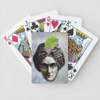The Mystic Sees All, new age Poker Deck