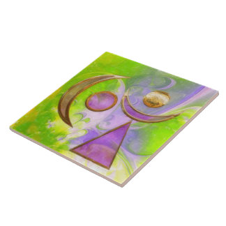 The Mystic Large Square Tile