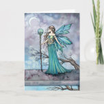 The Mystic Tree Fantasy Fairy Art Card