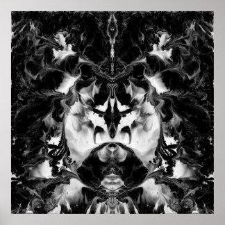 THE MYSTIC WAY (black & white art) ~ ~ ~ ~.jpg Poster