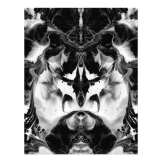 THE MYSTIC WAY (black & white art) ~ ~ ~ ~ Letterhead