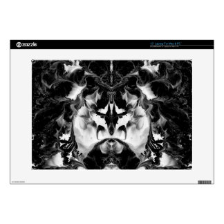 "THE MYSTIC WAY (black & white art) ~ ~ ~ ~ Skins For 15"" Laptops"