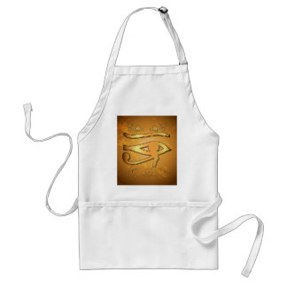 The mystical all seeing eye adult apron
