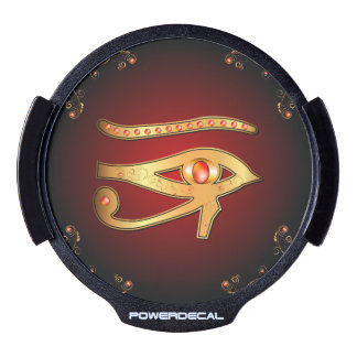 The mystical all seeing eye LED car decal