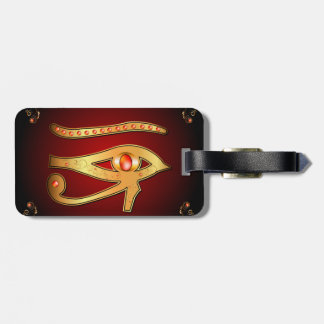 The mystical all seeing eye tag for luggage