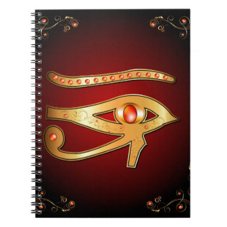 The mystical all seeing eye notebook