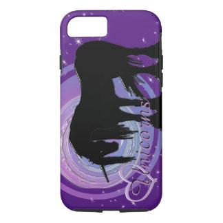 The Mystical Black Unicorn (Purple/Blue Blur) iPhone 7 Case