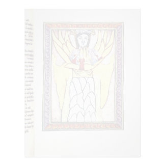 The Mystical Body By Meister Des Hildegardis-Codex Letterhead