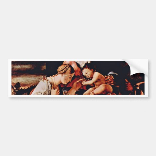 The Mystical Marriage Of St. Catherine Of Siena By Bumper Stickers