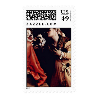 The Mystical Marriage Of St. Catherine Of Siena De Postage Stamp