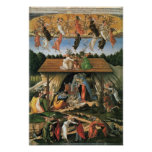 The Mystical Nativity (1500-1501) by Botticelli Print