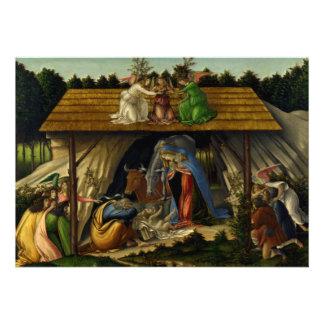 The Mystical Nativity - Botticelli Invite