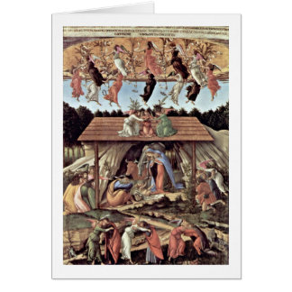 The Mystical Nativity By Sandro Botticelli Cards