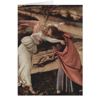 The Mystical Nativity Card