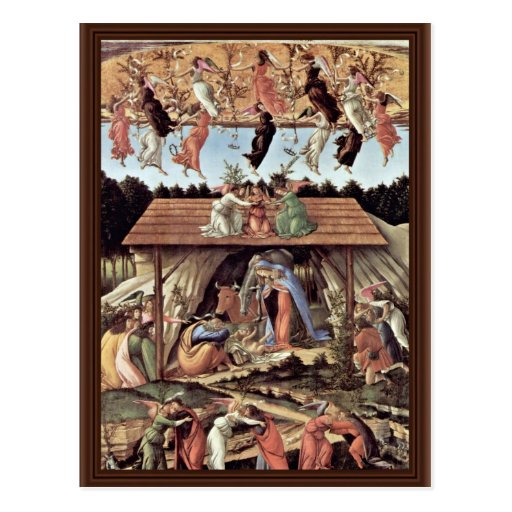 The Mystical Nativity Mystic Nativity Postcard