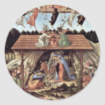 The Mystical Nativity Mystic Nativity Round Stickers