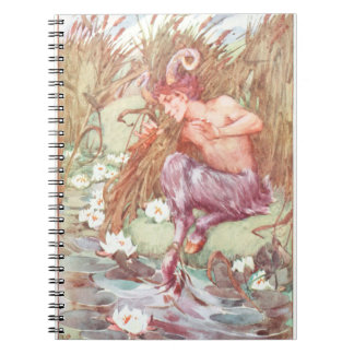 The Myth of Pan Spiral Notebook