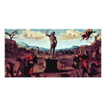 The Myth Of Prometheus Painting Sequence Of Five P Picture Card