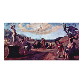 The Myth Of Prometheus Painting Sequence Photo Card