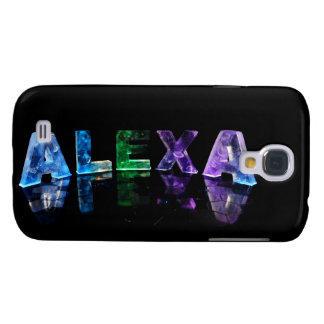 The Name Alexa in Lights Samsung S4 Case