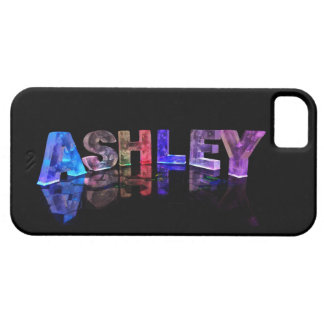 The Name Ashley in 3D Lights iPhone SE/5/5s Case
