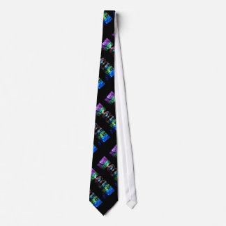 The Name Brayden in 3D Lights Tie