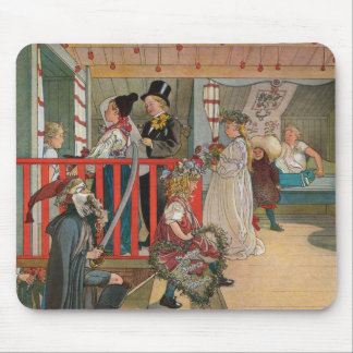 The Name Day by Carl Larsson Mouse Pad