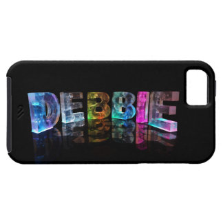 The Name Debbie in 3D Lights (Photograph) iPhone SE/5/5s Case