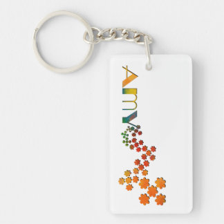 The Name Game - Amy Keychain