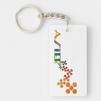 The Name Game - Aster Keychain