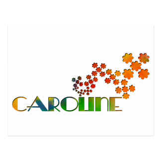 The Name Game - Caroline Postcard