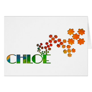 The Name Game - Chloe Cards