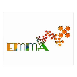 The Name Game - Emma Postcards