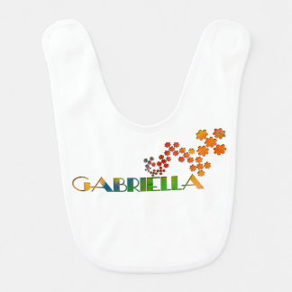 The Name Game - Gabriella Baby Bib